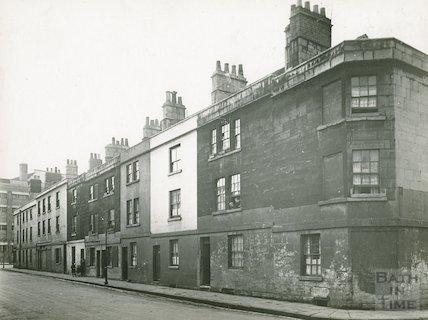 Corn Street, south side from Little Corn Street, c.1930s