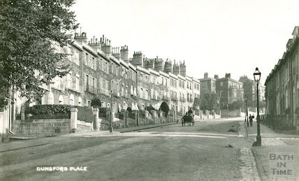 Dunsford Place, Bathwick Hill, c.1930s