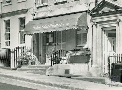 Trattoria Cellar Restaurant, Gay Street, Bath 1988