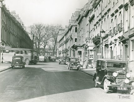Gay Street looking north, c.1940s
