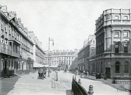 View from George Street looking east, c.1895