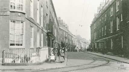 Great Stanhope Street, view from Nile Street looking east, c.1915