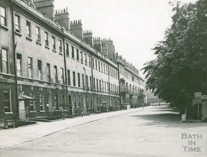 Green Park East from Seymour Street showing Nos. 1-18, c.1930s