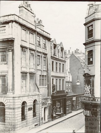 Corner of Milsom Street  and Green Street, Bath c.1903