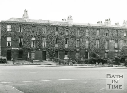 Grosvenor Place, Alexander Buildings, London Road, Bath, c.1960s?
