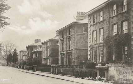 Henrietta Villas, Bathwick, general view c.1935