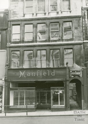 23 High Street, Bath. Manfield, 1964