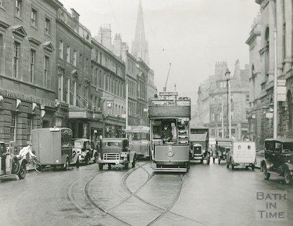 Bath High Street, c.1930s