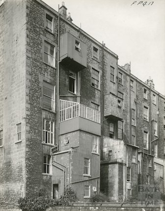 Rear of Johnstone Street, c.1930s