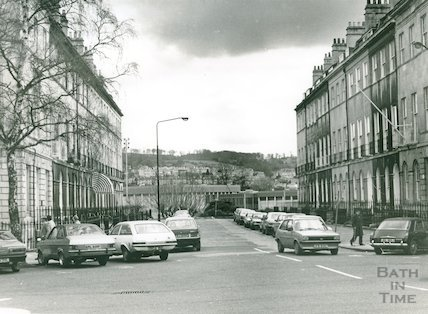 Johnstone Street, Bath, April 1982