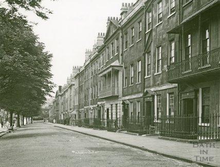 Kensington Place, general view, c.1950s
