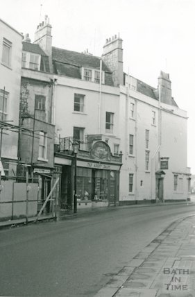 The Abbey Dairy, Lower Borough Walls, 1966
