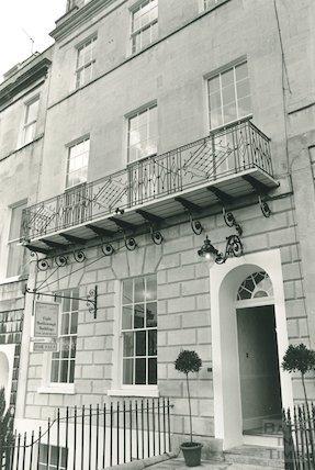 8 Marlborough Buildings, Bath, 1984