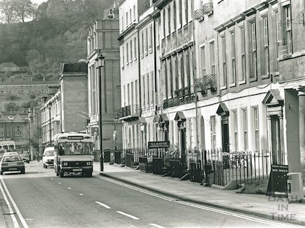 Manvers Street, Bath,  May 1991