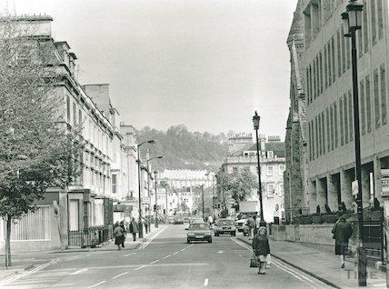 Manvers Street looking north, May 1991