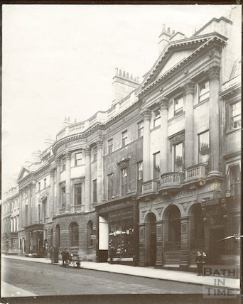 Somerset Buildings, Milsom Street, Bath c.1903