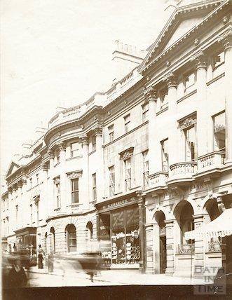 Somerset Buildings, Milsom Street, Bath c.1903