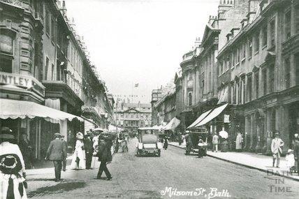 Milsom Street looking up, 1914