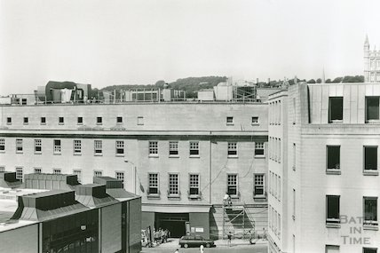 The Woolworths Building and the Southgate Centre, Bath, July 1989