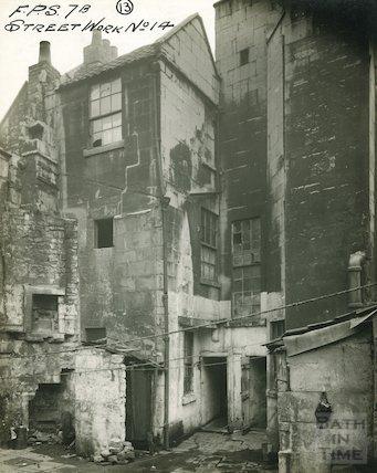 New Quay, Bath - rear of 5 & 6, c.1920s