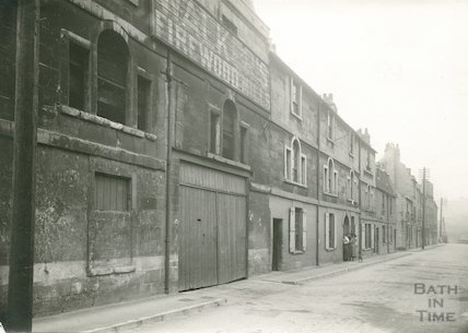 Walkers Firewood mills and houses on New Quay, c.1930
