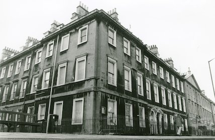 Corner of North Parade and Duke Street , c.1980s