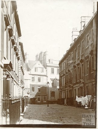 North Parade Buildings (Galloway's Buildings), Bath c.1903
