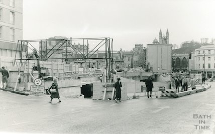 The Podium site, Northgate Street, 1988