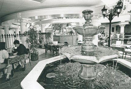 Cafe Piazza, Podium Centre, Northgate Street, 1992