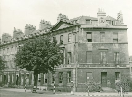 Great Pulteney Street. North side from Holburne Museum, c.1940