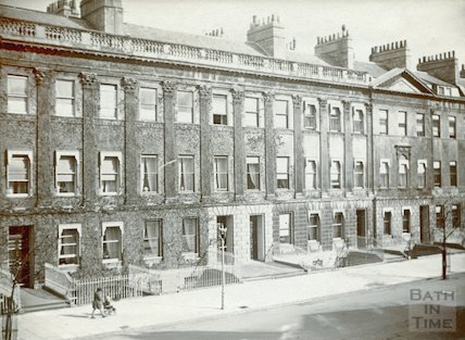 View across road from 79 Great Pulteney Street, c.1930s