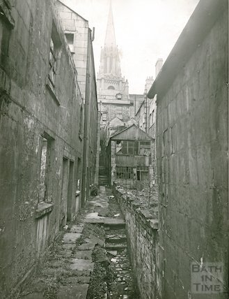 St Michael's Court, between 2 and 4 Walcot Street , c.1930s
