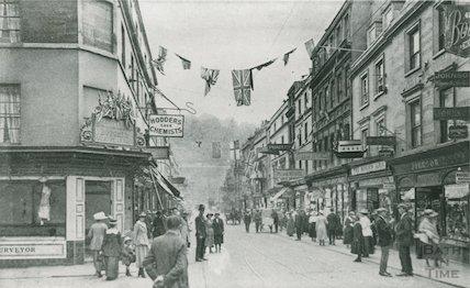 Southgate Street, early street scene, c.1918-20