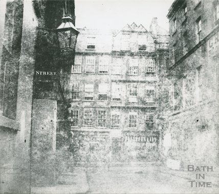 Very early view of Stall Street, 1849