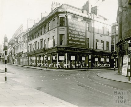 Foster's, Union Street. Corner from Stall Street, 1936