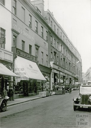 Union Street, from Stall Street looking up to Barton Street, c.1930s