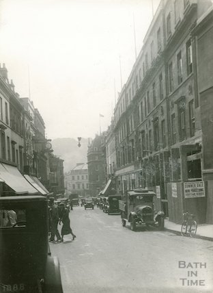 Union Street west side before rebuilding of Colmer's Premises, 1933