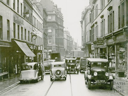 Cheap Street, time 12.40, c.1930s