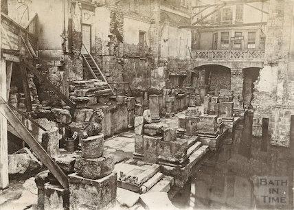 Roman Baths c.1885