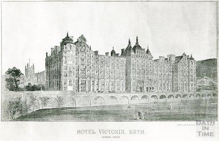 The proposed design for the Hotel Victoria, Bath, c.1900