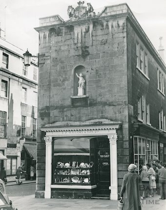 E.P. Mallory & Sons on Old Bond Street, c.1962