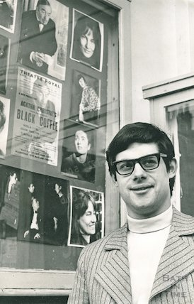 Sir Cameron Mackintosh at Bath's Theatre Royal, c.1970