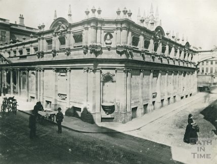 The New Private Baths, Stall Street, Bath, c.1906