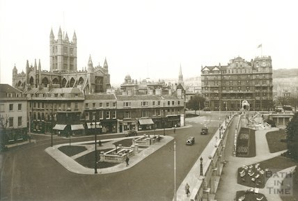 View of the newly revamped Terrace Walk area from the Grosvenor Hotel, 1933