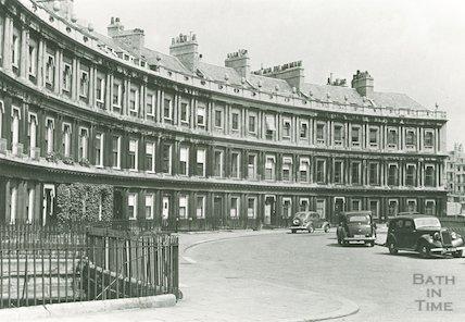 The Circus, Bath, c.1942