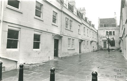 St Anne's Place, Bath after restoration, 16 December 1987