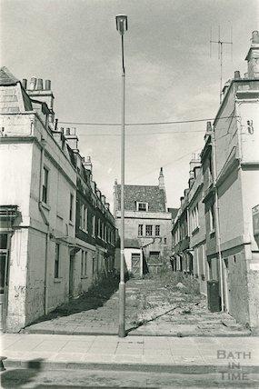 St Anne's Place, Bath, 19 August 1974