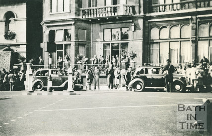The day the Admiralty moved into Bath, Empire Hotel, c.1940