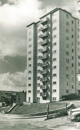 Berkley House, Snow Hill, c.1960