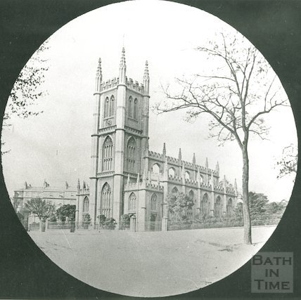 St Mary's, Bathwick, c.1880